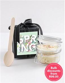 bakery: Spring Day Vanilla Cupcake Jar!