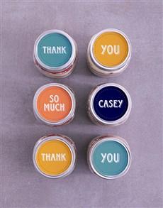 bakery: Personalised Thank You Cake Jars!