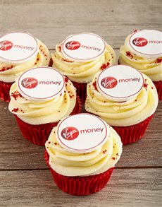 Picture of Red Velvet Cupcakes with Your Logo!