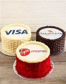 bakery: Corporate Cake with Your Logo!