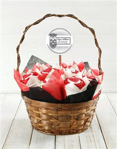gifts: Personalised Love Rocker Cupcake Bouquet!
