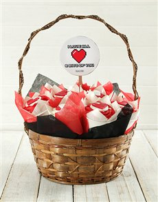 gifts: Personalised Love Bits Cupcake Bouquet!