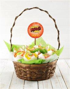 bakery: Personalised Merci Cupcake Bouquet!