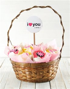 bakery: Personalised Love You Cupcake Bouquet!