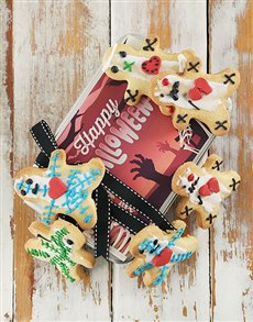 gifts: Scattered Skeleton Cookie Tin!