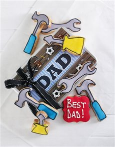 bakery: Tools For Dad Cookie Tin!