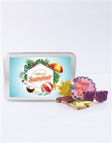 gifts: Hello Summer Cookie Tin!