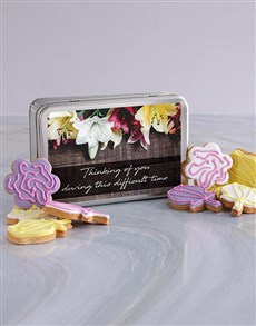bakery: Sympathy Cookie Tin!