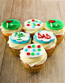 gifts: Cupcakes For The Golfer Dad!