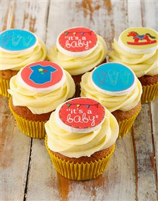 bakery: New Baby Cupcakes!
