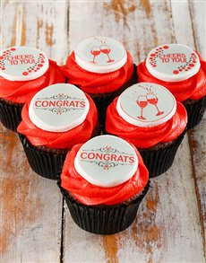 gifts: Congratulations Cupcakes!