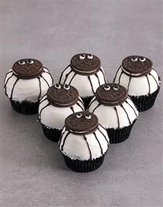 bakery: Chocolate Spider Cupcakes!