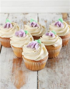 gifts: Earl Grey Cupcakes!