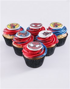 bakery: Spider Man Cupcakes!