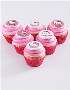 bakery: Hello Kitty Cupcakes!