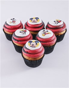bakery: Mickey Mouse Cupcakes!