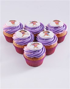 bakery: Dora The Explorer Cupcakes!