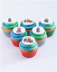 bakery: Alvin and The Chipmunks Cupcakes!