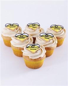 bakery: Spring Day Vanilla and Honey Bee Cupcakes!