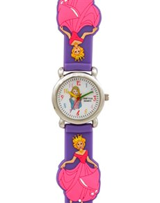 watches: Cool Kids 3 D Purple Queen Watch !
