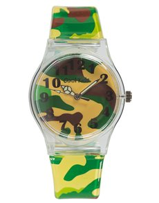watches: Cool Kids Funky Slim Army Watch!