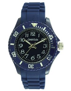 watches: Cool Kids Blue Neon Resin Watch!