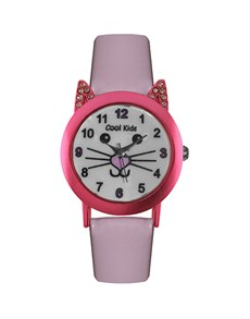 watches: Cool Kids Pink Kitty Watch!