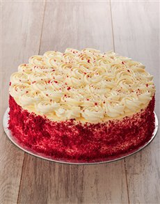bakery: Red Velvet Cake with Cream Cheese Icing 30cm!