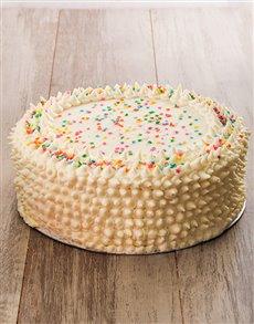 bakery: Pink Rainbow Cake 30cm!