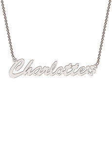jewellery: Memi Personalised Necklace CNAME AGB!
