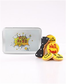 bakery: Personalised Emoji Well Done Cookie Tin!