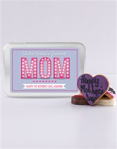 gifts: Personalised Greatest Mom Treat Tin!