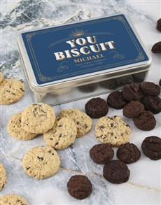 bakery: Personalised You Biscuit Tin!