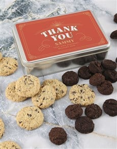 gifts: Personalised Thank You Cookie Tin!