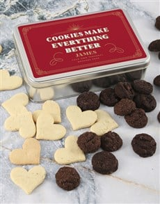 gifts: Personalised Cookies Make Everything Better Tin!