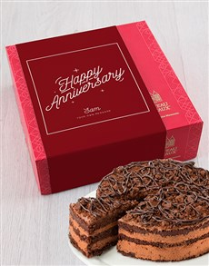 bakery: Personalised Chateau Gateaux Anniversary Cake!