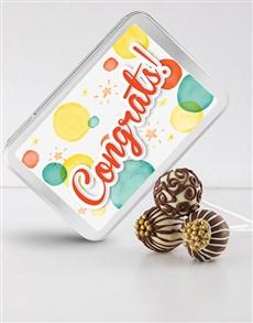 bakery: Congrats Cake Pops!
