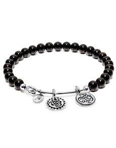 jewellery: Chrysalis Black Onyx Guardian Bangle!
