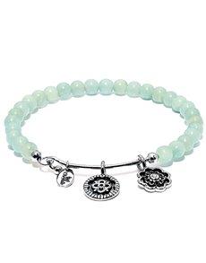 jewellery: Chrysalis Amazonite Happiness Guardian Bangle!