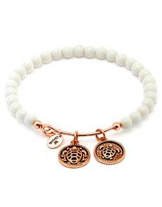 jewellery: Chrysalis Tranquility Serenity White Bangle!