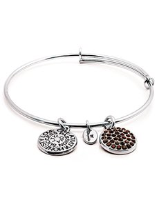 jewellery: Chrysalis Silver January Birthstone Bangle!