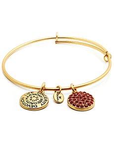 jewellery: Chrysalis Good Fortune July Birthstone Bangle!
