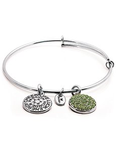 jewellery: Chrysalis Silver August Birthstone Bangle!