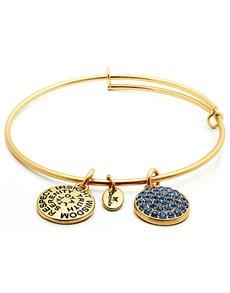 jewellery: Chrysalis Good Fortune September Birthstone Bangle!