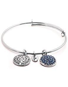 jewellery: Chrysalis Silver September Birthstone Bangle!