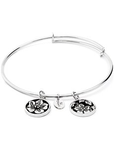 jewellery: Chrysalis Flourish Rhodium February Violet Bangle!