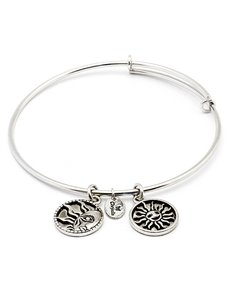 jewellery: Chrysalis Serenity Strength Rhodium Bangle!