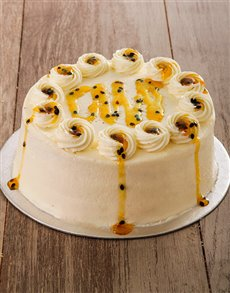 bakery: Orange and Passion Cake with Cream Cheese 20cm!