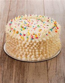bakery: Pink Rainbow Cake 20cm!