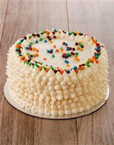 bakery: Blue Rainbow Cake 20cm!